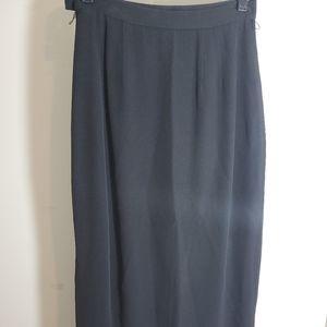Ann Tatlor long skirt size 6 black career